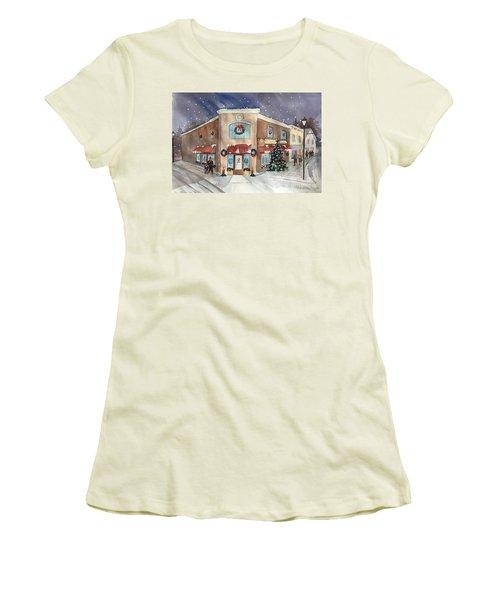 Morkes Christmas 2017 Women's T-Shirt (Athletic Fit)