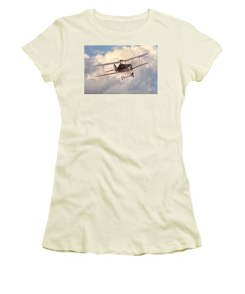 Morning Flight - Se5a Women's T-Shirt (Junior Cut) by David Collins