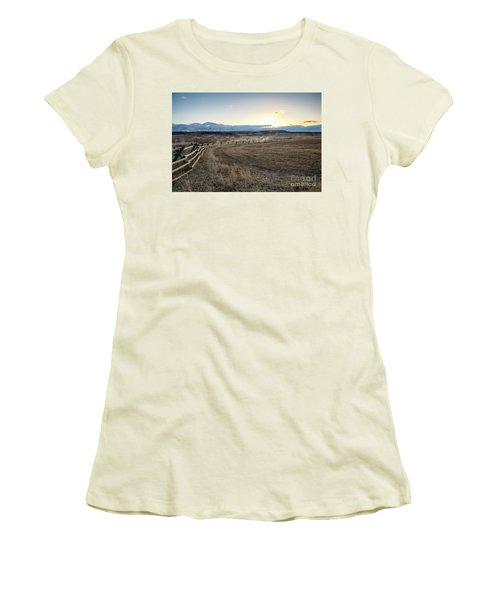 Morning Grace Women's T-Shirt (Athletic Fit)