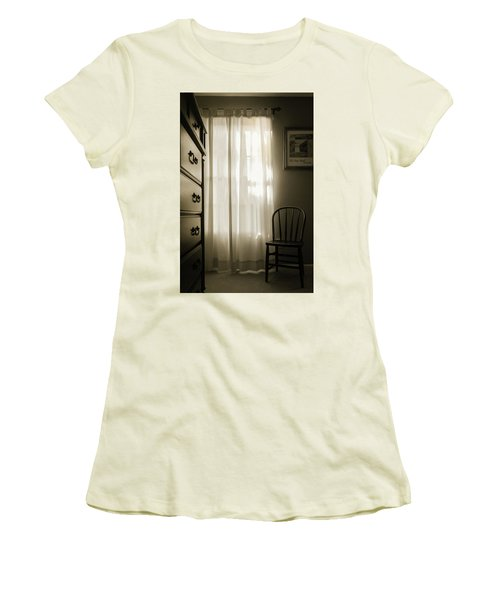 Morning Light Through The Window Women's T-Shirt (Athletic Fit)