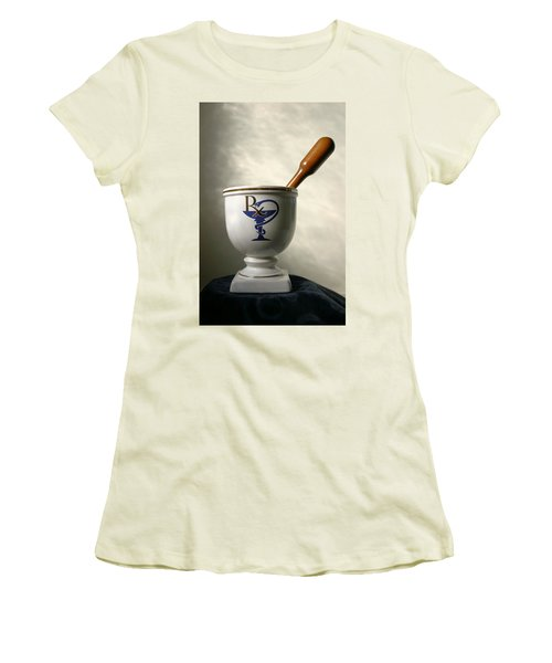 Mortar And Pestle Women's T-Shirt (Athletic Fit)