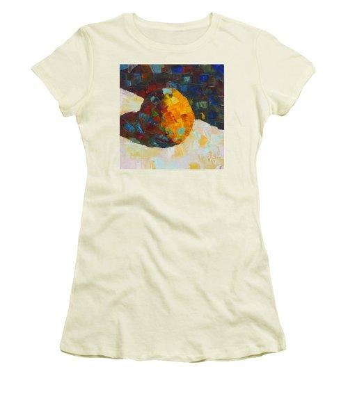 Mosaic Citrus Women's T-Shirt (Junior Cut) by Susan Woodward