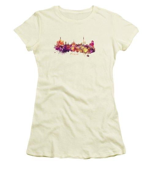 Moscow Women's T-Shirt (Junior Cut) by Justyna JBJart