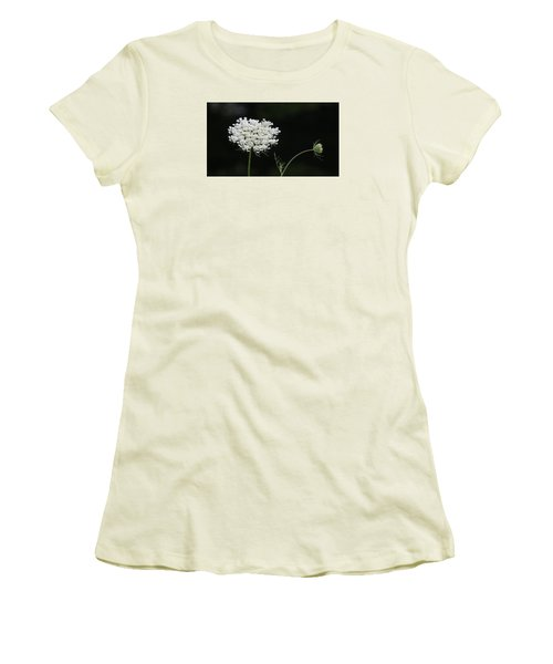 Women's T-Shirt (Junior Cut) featuring the photograph Mother And Child by Jeanette Oberholtzer