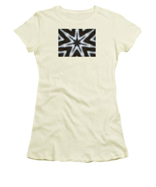Mountain Star Women's T-Shirt (Junior Cut) by Ernst Dittmar