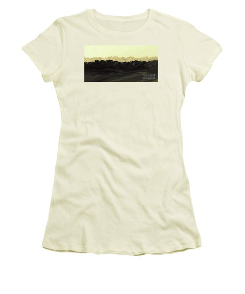 Mountains Of The Mohave Women's T-Shirt (Athletic Fit)