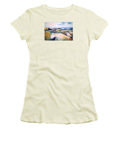 Mt Lemmon View Women's T-Shirt (Junior Cut) by M Diane Bonaparte