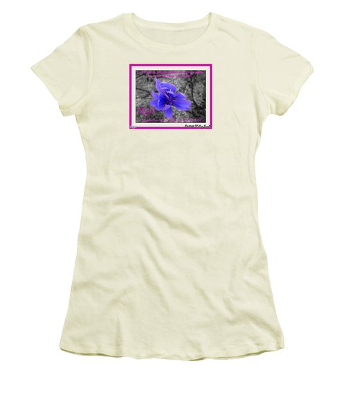 My Well-being Women's T-Shirt (Junior Cut) by Holley Jacobs