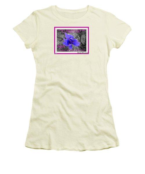 My Well-being Women's T-Shirt (Junior Cut)