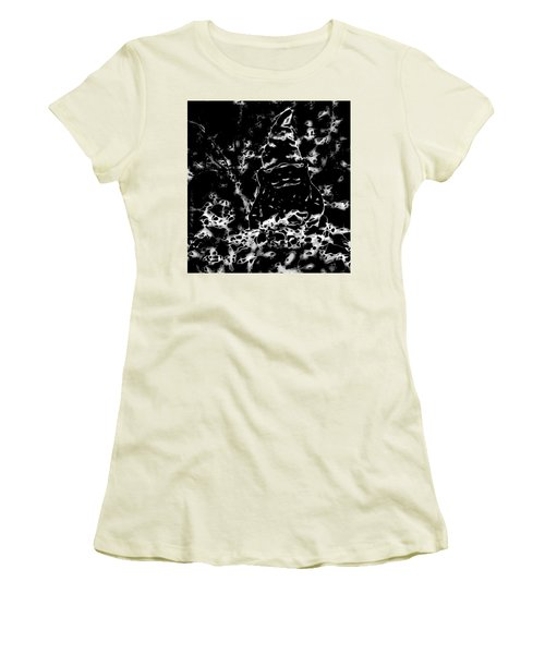 Mystic Garden Gnome Women's T-Shirt (Junior Cut) by Gina O'Brien