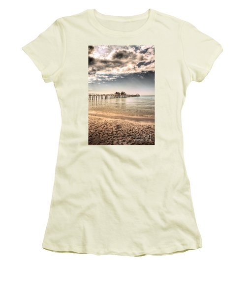 Naples Pier Women's T-Shirt (Athletic Fit)