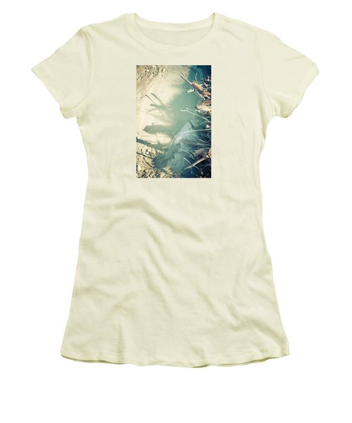 Natural Fantasmigoria Women's T-Shirt (Junior Cut) by Michele Cornelius