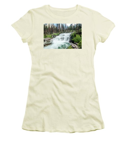 Nature Finds A Way Women's T-Shirt (Athletic Fit)