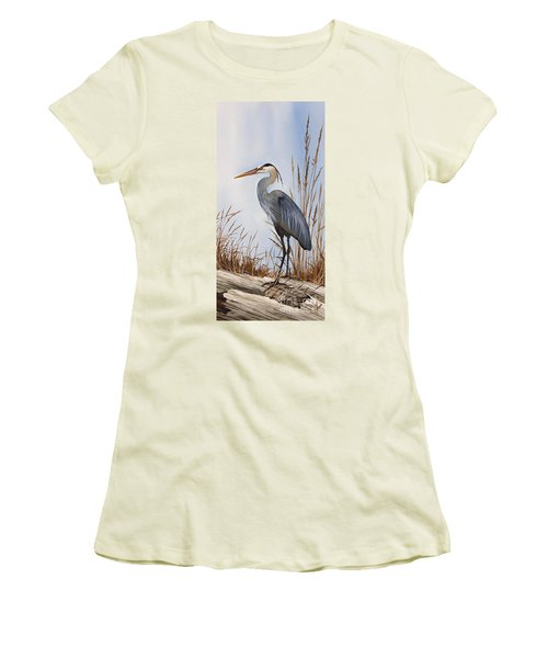 Nature's Gentle Beauty Women's T-Shirt (Junior Cut) by James Williamson
