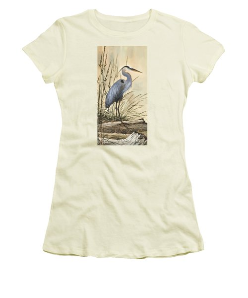 Nature's Harmony Women's T-Shirt (Junior Cut) by James Williamson