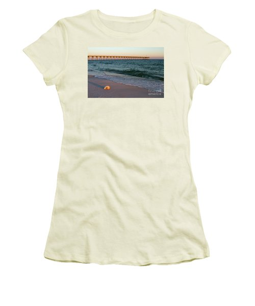 Nautilus And Pier Women's T-Shirt (Athletic Fit)
