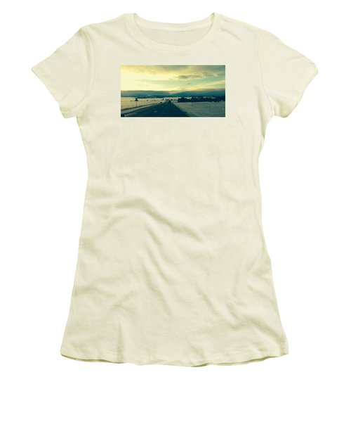 Women's T-Shirt (Junior Cut) featuring the photograph Near Hartsel by Christin Brodie