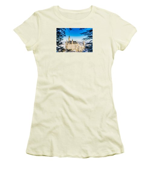 Neuschwanstein Castle Women's T-Shirt (Athletic Fit)