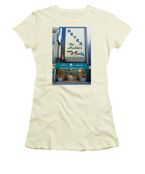 New Orleans Hatter Women's T-Shirt (Athletic Fit)