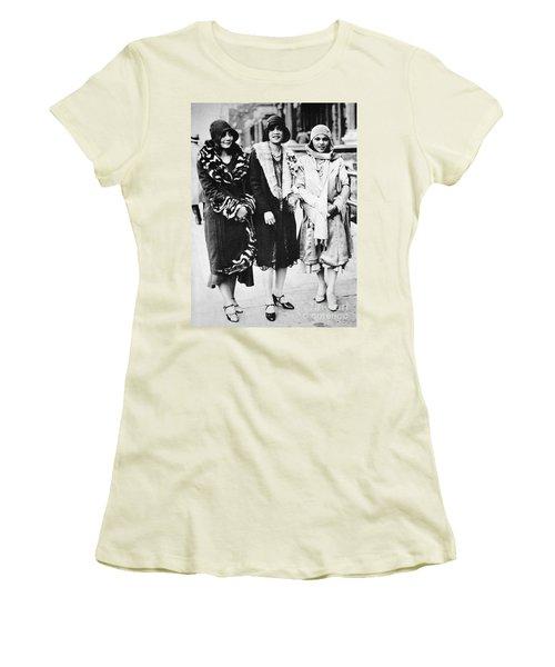 New York - Harlem C1927 Women's T-Shirt (Junior Cut) by Granger