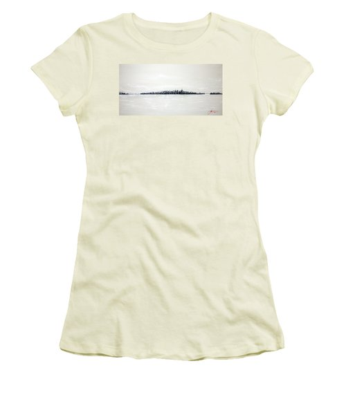New York City Skyline 48 Women's T-Shirt (Athletic Fit)