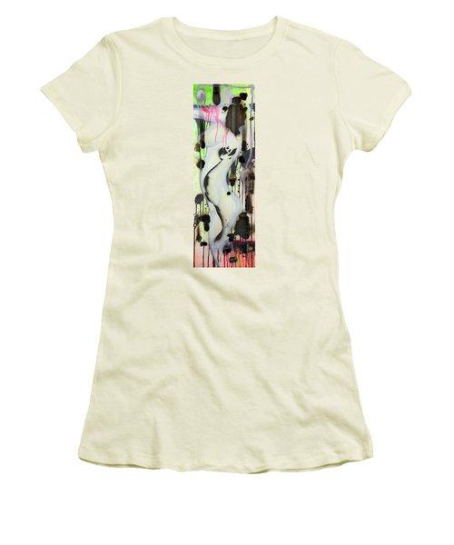 No Winners In Love Women's T-Shirt (Junior Cut) by Sheridan Furrer