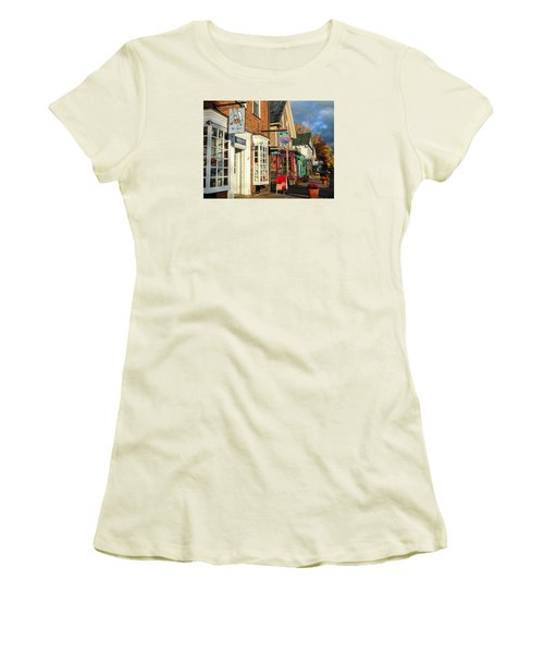 North Conway Village 2 Women's T-Shirt (Athletic Fit)