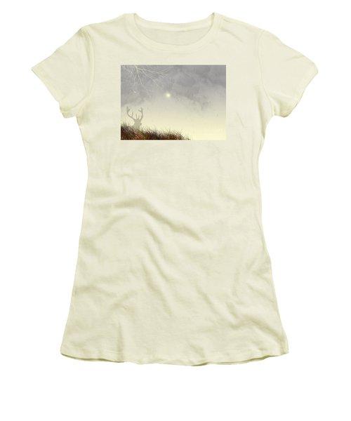 Nostalgic Moments Women's T-Shirt (Junior Cut) by Trilby Cole