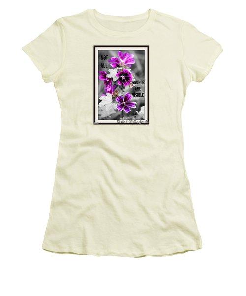 Not All Wounds Women's T-Shirt (Junior Cut)