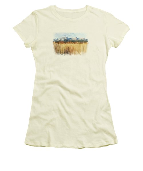Not Far Away Women's T-Shirt (Junior Cut) by Ivana Westin