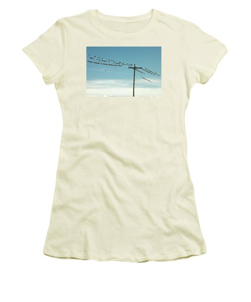 Not Like The Others Women's T-Shirt (Junior Cut) by Todd Klassy