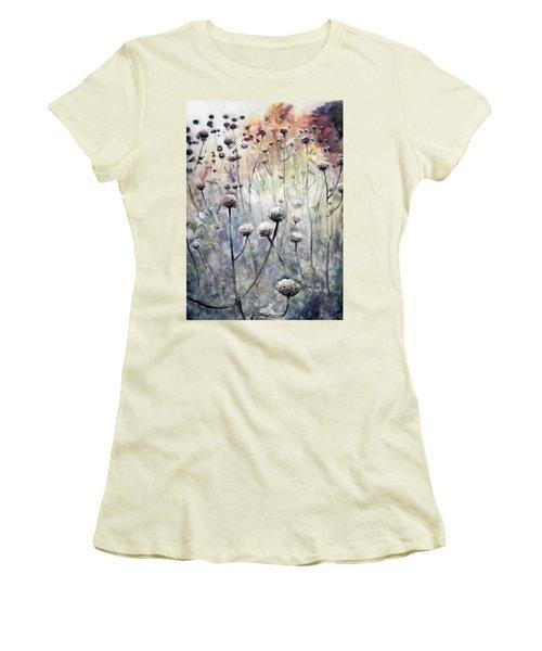 November Women's T-Shirt (Junior Cut) by Arleana Holtzmann
