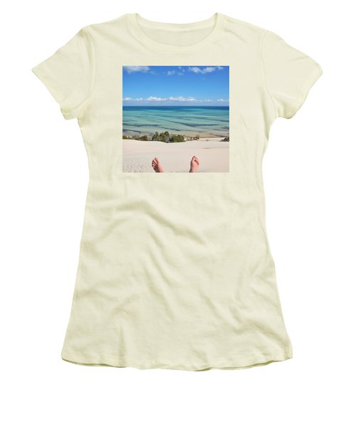 Ocean Views Women's T-Shirt (Athletic Fit)