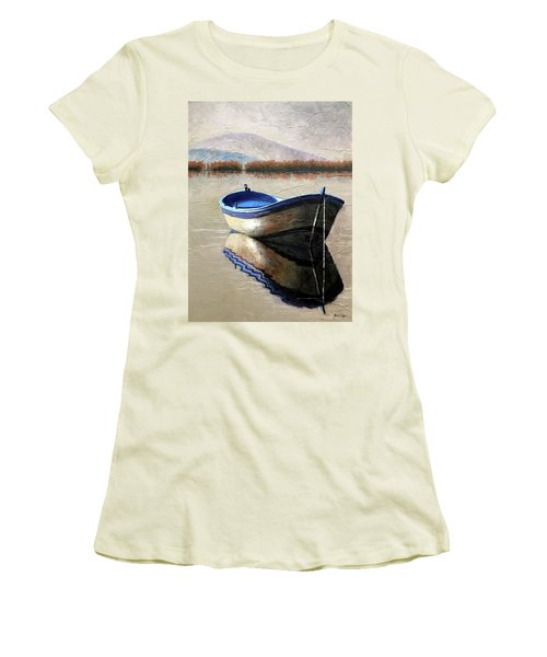 Old Boat Women's T-Shirt (Junior Cut)