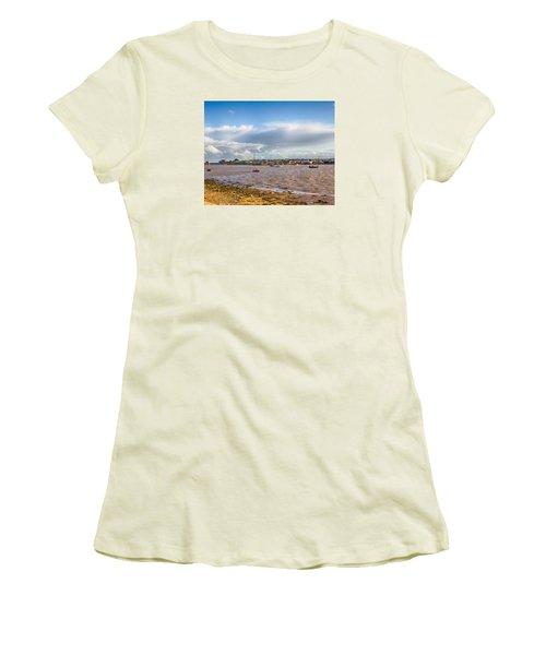 Old Felixstowe 8x10 Women's T-Shirt (Athletic Fit)