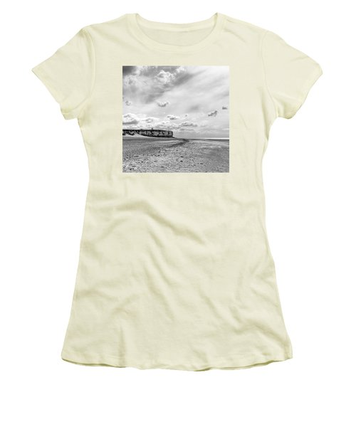 Old Hunstanton Beach, Norfolk Women's T-Shirt (Junior Cut) by John Edwards