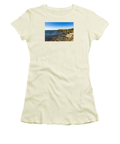 Old Life Boat Station Women's T-Shirt (Athletic Fit)
