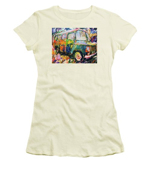 Old Paint Car Women's T-Shirt (Athletic Fit)