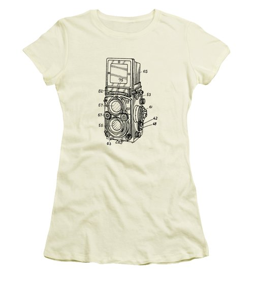 Old Rollie Vintage Camera T-shirt Women's T-Shirt (Athletic Fit)