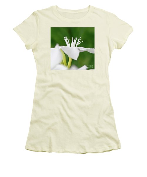 Women's T-Shirt (Junior Cut) featuring the photograph Oleander Ed Barr 2 by Wilhelm Hufnagl