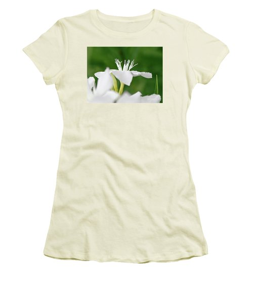 Women's T-Shirt (Junior Cut) featuring the photograph Oleander Ed Barr 1 by Wilhelm Hufnagl