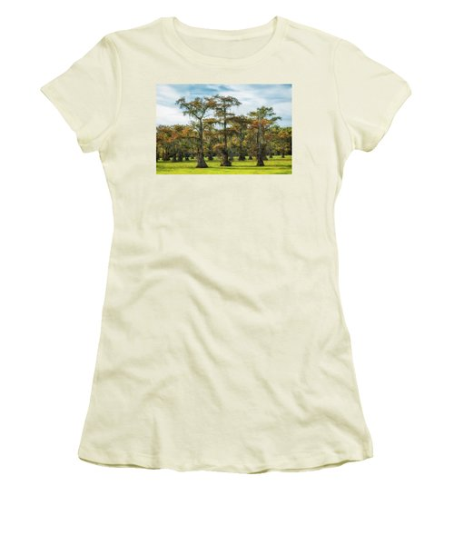 On Green Bayou Women's T-Shirt (Athletic Fit)