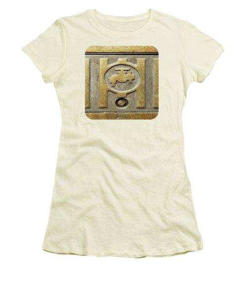 On Tap Women's T-Shirt (Junior Cut) by Ethna Gillespie