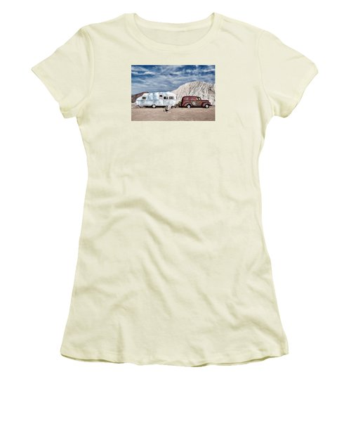 On The Road Again Women's T-Shirt (Junior Cut) by Renee Sullivan