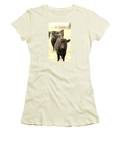 One At A Time Women's T-Shirt (Athletic Fit)