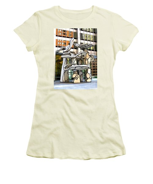One Chase Manhattan Plaza 1 Women's T-Shirt (Athletic Fit)