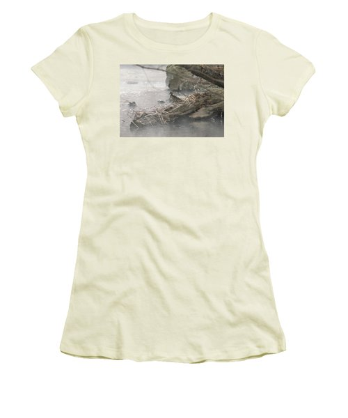 One Little Ducky Women's T-Shirt (Athletic Fit)