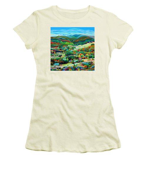 Onset Of The Appalachian Wonderfall Women's T-Shirt (Athletic Fit)