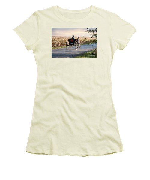Open Road Open Buggy Women's T-Shirt (Athletic Fit)