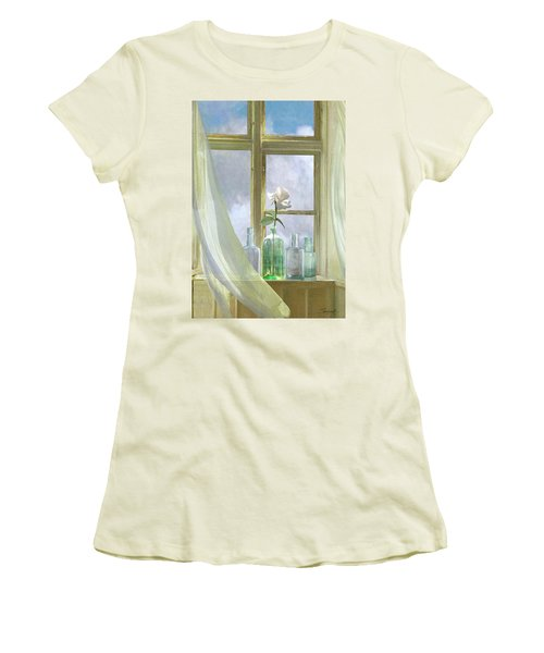 Open Window Women's T-Shirt (Athletic Fit)